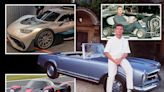 Mega-wealthy Coulthard's car collection includes TWO motors costing over £2m