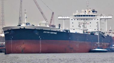 UK says Iranian boats tried to block a British oil tanker
