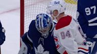 a Goalie Save from Toronto Maple Leafs vs. Montreal Canadiens