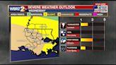 Wednesday AM Forecast: Severe risk upgraded for EBR, Livingston, & Ascension