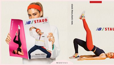 NewBalance和STAUD攜手推出第四波秋冬聯名系列,復刻鞋履碰上原色服飾 | 品牌新聞 | 妞新聞 niusnews