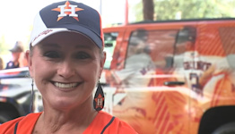 With Astros as her outlet, local ICU nurse powers through pandemic