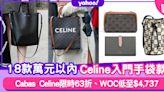 名牌手袋 Celine手袋入門低至$4,600!萬元以內18款Celine!Cabas Tote限時63折