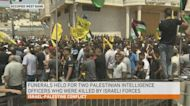 Israeli forces kill Palestinian officers in 'undercover mission'