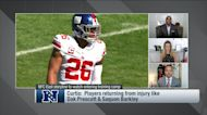 NFC East storylines to watch in training camp 'NFL Total Access'