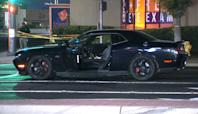 2 men seriously injured in car-to-car shooting in Visalia