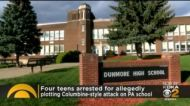 4 Teens Accused Of Plotting Attack At Pennsylvania High School On Columbine Anniversary