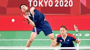 鄧謝配混雙險勝首闖8強 謝影雪大讚初征奧鄧俊文成熟 - 20210727 - 體育