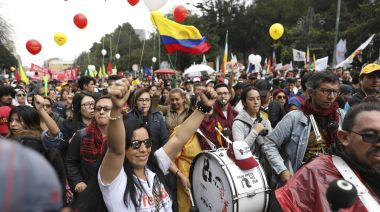 Latin America protests spread to Colombia