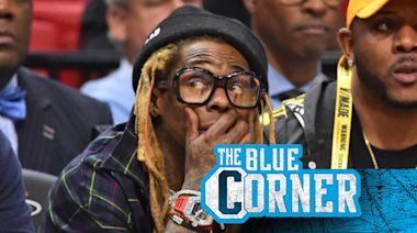 Lil' Wayne was blown away by Derrick Lewis' crazy KO at UFC Fight Night 185