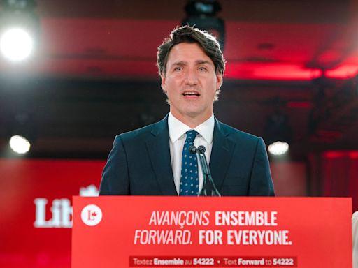 杜魯多贏得加拿大選舉 再組建少數派政府