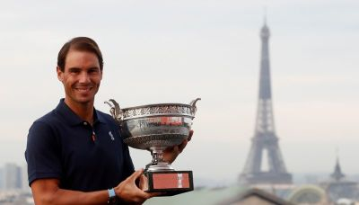 Nadal and Osaka scoop top Laureus awards