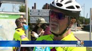 Honoring 911 Firefighters: A 40-day bike ride across the country gets underway to honor 911 victims and heroes