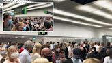 'Fights break out' in packed Rhodes airport after '5 flights called at once'