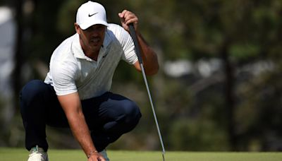 Brooks Koepka shows 'videobombing' Bryson DeChambeau that he is chasing his US Open crown