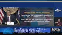 Gov. Cuomo Announces Middle Class Tax Cut
