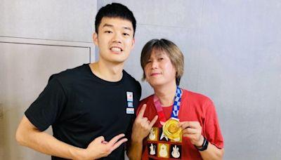 恭喜!吉董考取師大博士班 搶摸王齊麟東奧金牌