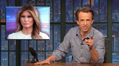 Seth Meyers Rips Into Melania for Making Herself the Real Victim of Capitol Riot