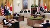 印太四方領袖首次峰會華府舉行 出乎意料聯合聲明未提及台海與中國 --上報