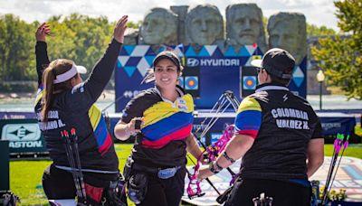 Selección Colombia ganó dos medallas de oro en el Campeonato Mundial de Tiro con Arco