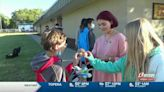Topeka middle school holds 'egg'-citing experiment for students