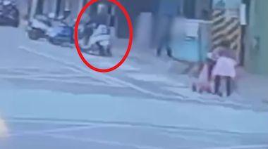 快新聞/泰山林男當街搶奪金項鍊 3秒得手騎車逃逸