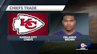 Reports: Chiefs trade first-round pick to obtain All-Pro offensive tackle Orlando Brown
