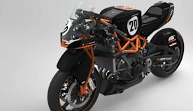 Would You Ride A 3D Printed Bike With A Fireblade Engine?