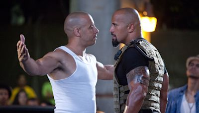 The Rock weighs in on Vin Diesel's 'Fast & Furious' feud comments: 'I laughed and I laughed hard'