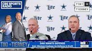Dak Prescott: Cowboys Need to Draft Defense | Tiki and Tierney