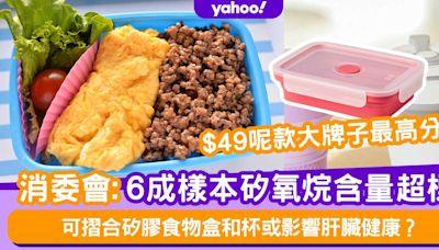 消委會│可摺合矽膠食物盒和杯6成樣本矽氧烷含量超標!或影響肝臟健康?Ikea$49最高分