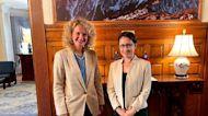 立陶宛經長會蕭美琴 期待台經貿團訪問
