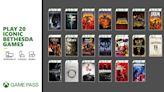 明天起 20 款 Bethesda 旗下的遊戲將來到 Xbox Game Pass 上