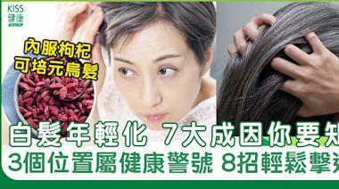 白髮7大成因+8招解決方法|白髮增生位置反映疾病警號! | 養顏養生 | Sundaykiss 香港親子育兒資訊共享平台