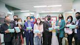 急難救助協會捐贈口罩給聖心組織