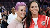 Megan Rapinoe recounts spontaneously proposing to Sue Bird with a ring she had on