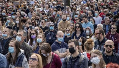 Thousands protest in Belgrade, demand government action to stop pollution