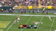 Aaron Rodgers' best throws from 3-TD game Week 7