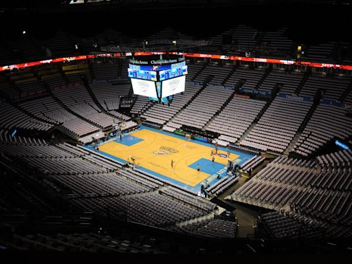 Fans will not be allowed at Thunder games during start of season