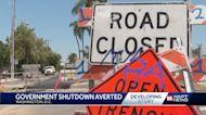 Government shutdown averted