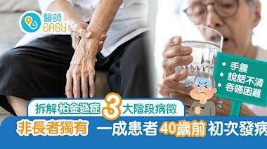 柏金遜症非長者專利 病發成因不明 手震、四肢僵硬為早期症狀