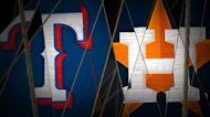 Rangers vs. Astros Highlights