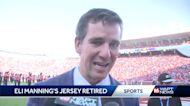 Ole Miss retires Eli Manning's jersey