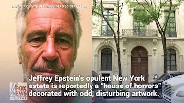Jeffrey Epstein's opulent New York mansion said to contain bizarre, disturbing art