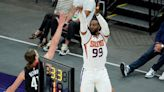 Suns hit record-tying 18 3s in half, beat Rockets 126-120