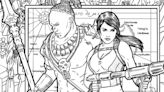 Tomb Raider's Lara Croft Gets Free Adult Coloring Book Pages