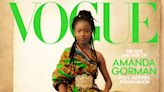 Amanda Gorman wore a colorful dress inspired by designer Virgil Abloh's African heritage on the cover of Vogue