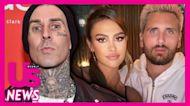 Kourtney Kardashian Shows Off Blink-182 Hoodie for Travis Barker