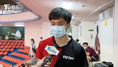 奪冠「只用1球」!林昀儒因對手傷退 男單摘金