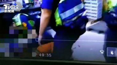 沒錢就報警!男持檳榔刀搶超商 警3分鐘趕到壓制│TVBS新聞網